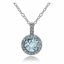 Blue Natural Stone Fine Necklaces & Pendants