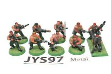 Warhammer Imperial Guard Catachan Jungle Fighters With Missile Launcher Metal