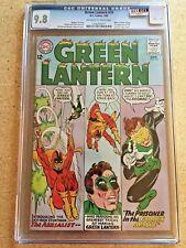 GREEN LANTERN #35 CGC NM/MT 9.8; OW-W; 1st appearance Aerialist! Highest graded!