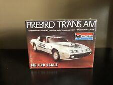 Monogram 1:20 Firebird Trans Am Daytona 500 Model Kit Sealed