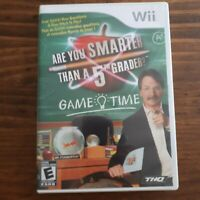 Are You Smarter Than a 5th Grader: -  ( Nintendo Wii ) Authentic/Cleaned/Tested