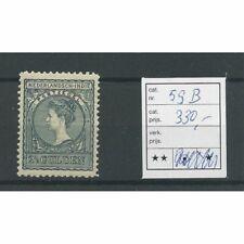 Ned. Indie 59B  Wilhelmina  MNH/postfris CV 330 €