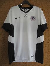 Maillot Montpellier Entrainement Porté Blanc rétro Football Nike Vintage - L