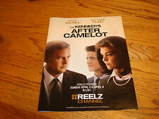 THE KENNEDYS AFTER CAMELOT 2017 Emmy ad with Matthew Perry, Katie Holmes