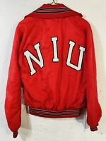 Vintage Holloway Northern Illinois University NIU 100% Nylon Jacket Size Small