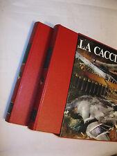 LA CACCIA 2 VOLUMI - SERGIO PEROSINO - DE AGOSTINI 1970
