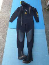 Poseidon Drysuit Unisuit Exclusive Neoprene Diving Suit size ML
