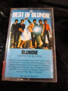 Blondie The Best of Blondie audio cassette~