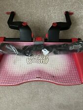 Lascal Buggy Board Maxi, With Brand New Connectors, Black/Red