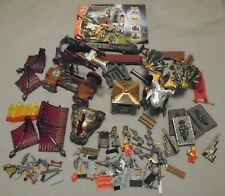 Mega Bloks ~ Wizard's Strong Box # 9806 ~ Dragons - Incomplete Set + Parts +