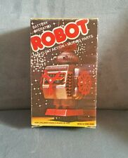 Vintage Robot Go Float Action Hong Kong 1970s Works Great!