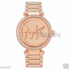 Michael Kors Original MK5865 Women's Parker Rose Gold Crystal Set Watch