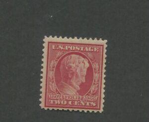 United States Postage Stamp #369 Mint Hinged F/VF OG
