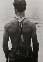 1981 Vintage BRUCE WEBER Male Model JON Clammer Martha Vineyard Man Photo Art