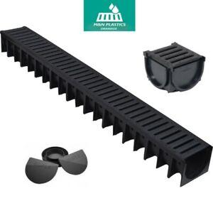 Drainage Channel 1mtr HEAVY DUTY A15 Muffel Plastic grating drain