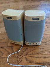 Altec Lansing GCS100 Multimedia Computer Speakers System Gateway 2000 Pair Vtg