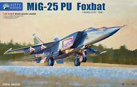 Kitty Hawk KH80136 1/48 Mig-25 PU Foxbat Model Buidling Kit,Released 2019 NEW