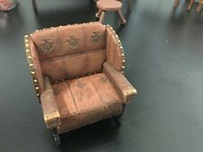 dollhouse miniature - Billiard Chair - Raine Take a Seat 1:12 resin