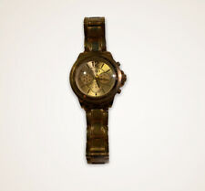 Womens XOXO Gold Watch Large Face -Needs Battery- Analog Watch