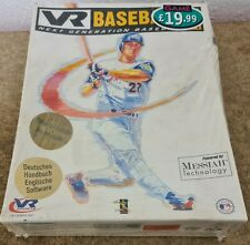 Brand New and Sealed VR Baseball 2000 (PC:  Windows) RARE