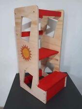 Learning tower torre di apprendimento personalizzabile altezza regolabile
