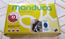 MANDUCA baby carrier sling in sand colour EUC