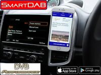AUTODAB SMARTDAB FM Wireless Car Digital Radio DAB Tuner For Vauxhall