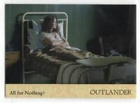 Outlander Season 2 (2017) RAINBOW FOIL BASE Trading Card #02 / ALL FOR NOTHING?