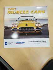 NEW OEM Genuine GM ACDelco 2021 Muscle Cars Calendar 2021
