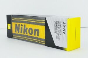 [New] Nikon AN 6Y - Neck strap for Camera - yellow - nylon AN-6Y Made in Japan
