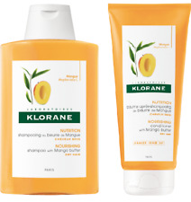 DUO  Klorane Shampoo 200ml + Conditioner 200ml with mango butter for dry hair