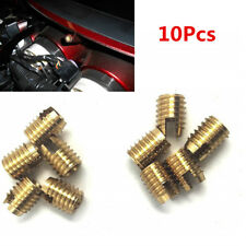 10X Replacement Batwing Fairing Brass Insert Bolt For Harley Touring Bikes 96-16