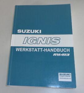 Manual de Taller Suzuki Ignis RM 413 Stand 05/2003