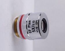 Nikon CF Plan 5x /.13 EPI Infinity Microscope Objective