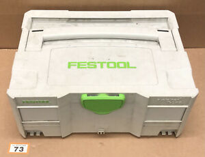 Festool Systainer SYS 2 T-Loc Stackable Tool Box Case (73)