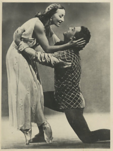 Galina Ulanova with Yuri Zhdanov  Vintage , Bolshoi Ballet triumph in London