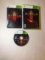 Diablo III  XBOX 360  Game ( XBOX 360)