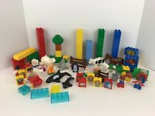 Lego Duplo Farm Animals Zoo Animals Farm & Zoo People & Accessories + 65 Blocks
