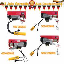 220V 200-1000kg 510-1800W Elektrische Seilwinde Flaschenzug Kran Motorwinde NEU