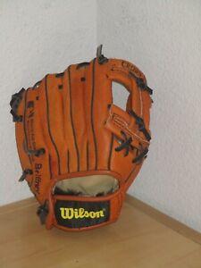 Wilson Brown Mini Pro Kids T-Bal Baseball Softball Glove RHT Good Condition