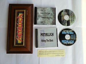 METALLICA Rare Coffin Box CD Live (Motorhead Iron Maiden Slayer AC DC Megadeth)