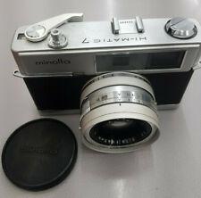 Minolta hi-matic 7 Japanese Retro Camera