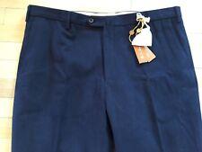 Loro Piana Azul Marino Cuatro Bolsillos Clásica Pantalones Size Eu 42 , Eu 58 En