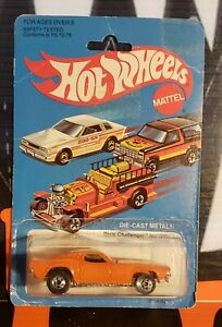 """1982 HOT WHEELS ** DIXIE CHALLEGER ** #3364 1:64 """" BAD CARD """""""
