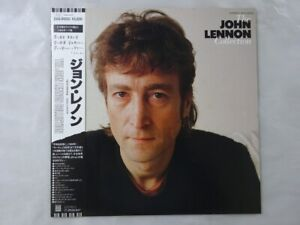 John Lennon The John Lennon Collection Odeon EAS-91055 Japan   LP OBI
