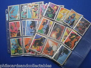 Anglo - Captain Scarlet  Bubblegum Cards * Choose The One's You Need *  1968