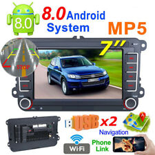 7'' 2 DIN Android GPS Navigation MP5 Player Stereo Audio  Bluetooth Touch Screen
