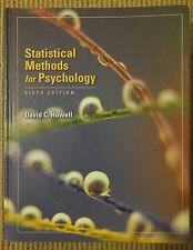Statistical Methods for Psychology (Howell, 2007) (Hardback)