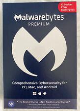 Malwarebytes Anti-Malware Premium 4.2 10 PC- 1yr 2020 version Product Key Card
