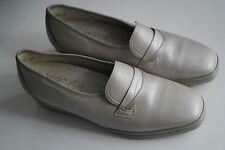 SEMLER leichtfüßig Damen Schuhe Slipper Mokassins Einlagen Leder ceme Gr.8 H 42